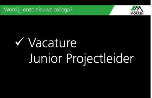 Junior Projectleider